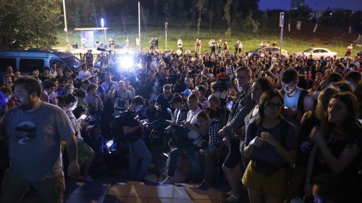 Протесты, Голунов