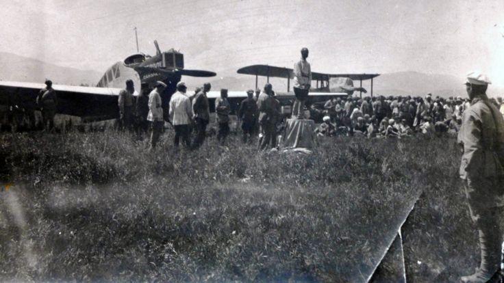 دوشنبه در سال ۱۹۳۰: افتتاح فرودگاه دوشنبه
