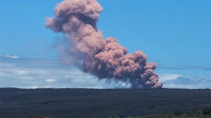 Mount Kilauea in Hawaii