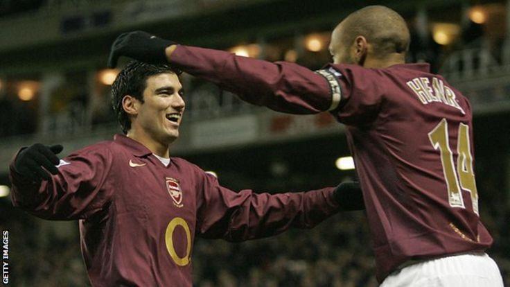 Jose Antonio Reyes and Thierry Henry