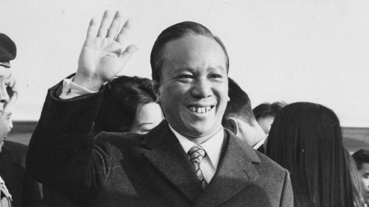 Tổng thống Nguyễn Văn Thiệu trong chuyến công du tới Anh, 10/4/1973