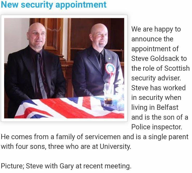 Stephen Goldsack at BNP meeting