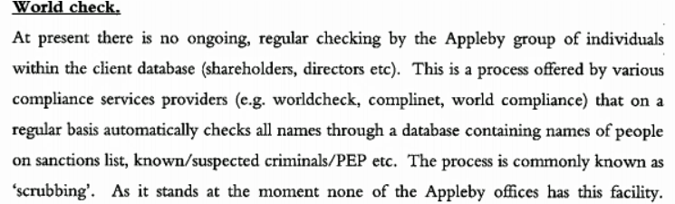 Paradise Papers document