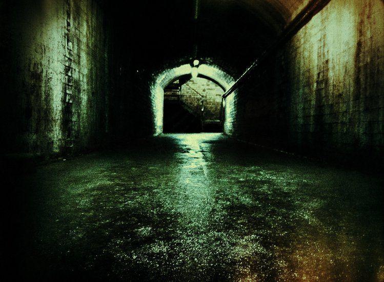 An underground shelter