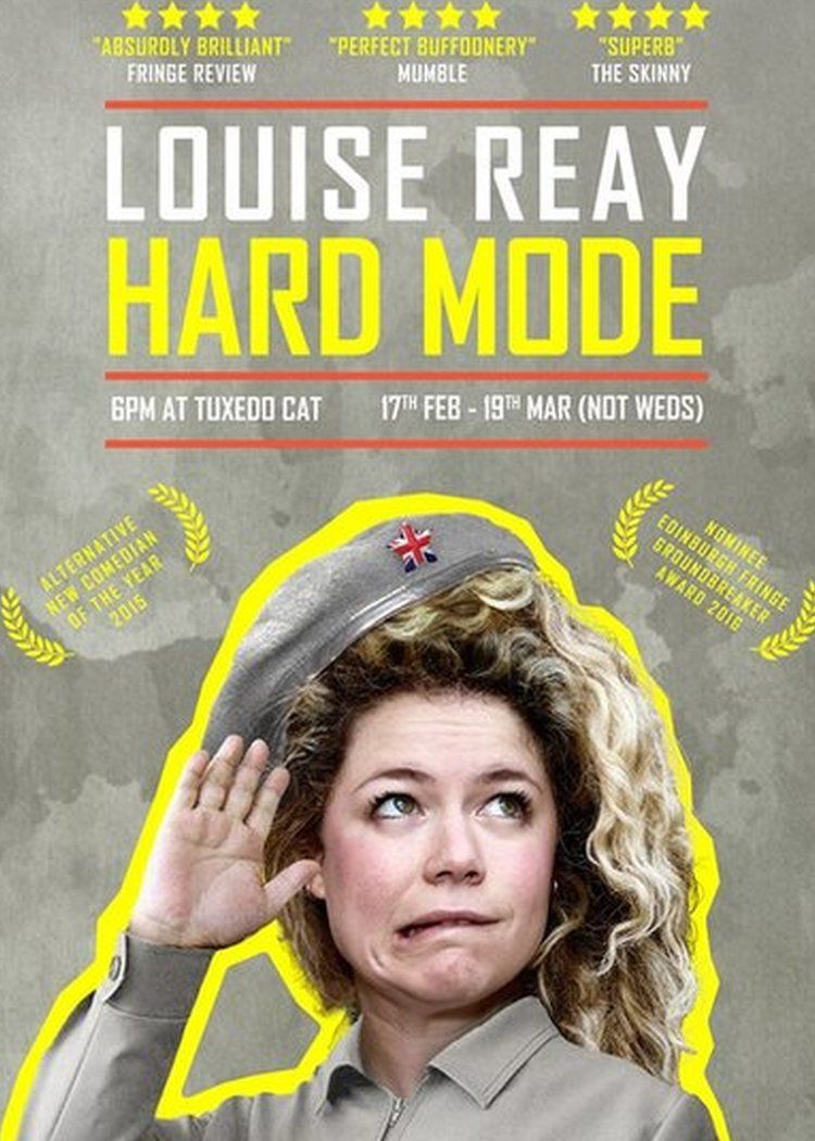 Louise Reay publicity poster