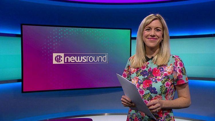Jenny on Newsround.