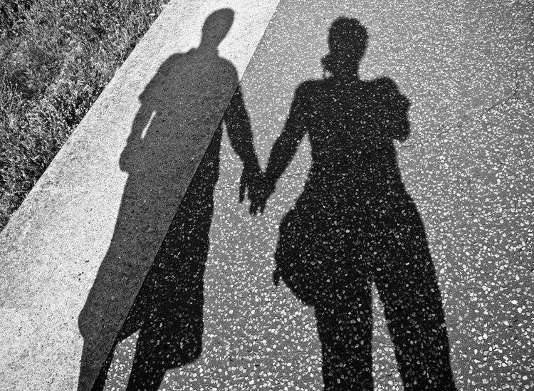 Shadow of couple