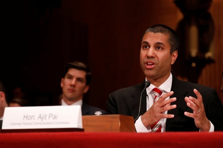 Ajit Pai, chairman of the Federal Communications Commission, has been a prominent critic of net neutrality regulations