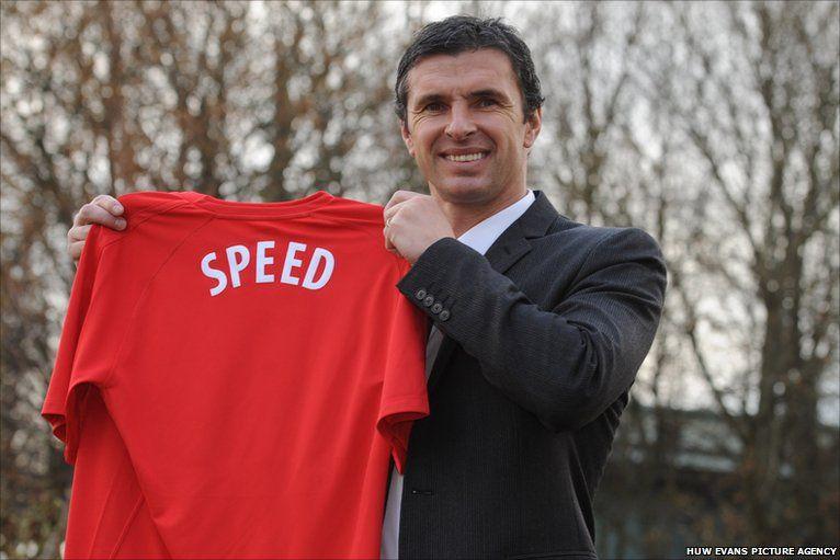 Yn Rhagfyr 2010, cafodd Speed ei benodi yn reolwr Cymru fel olynydd i John Toshack