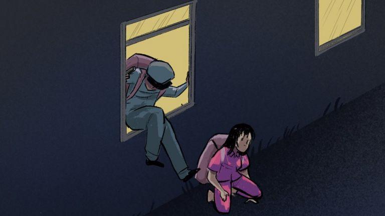 脱北者:囚犯与守卫一起逃出朝鲜