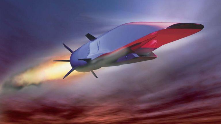Рисунок самолета X15A