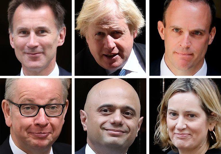 Likely Tory leadership contenders