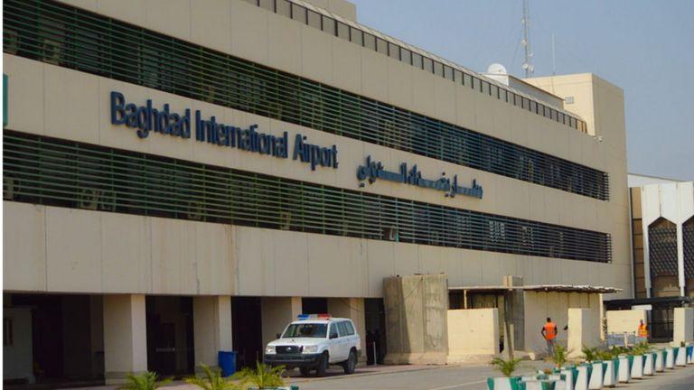 международный аэропорт Багдада