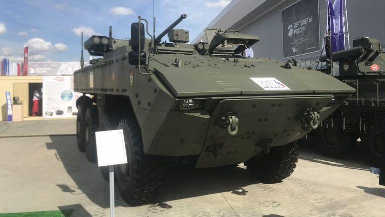 БМП К-17  Бумеранг