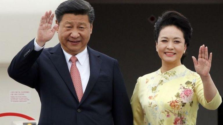 Vợ chồng Chủ tịch Trung Quốc Tập Cận Bình thăm Hà Nội tháng 11/2015