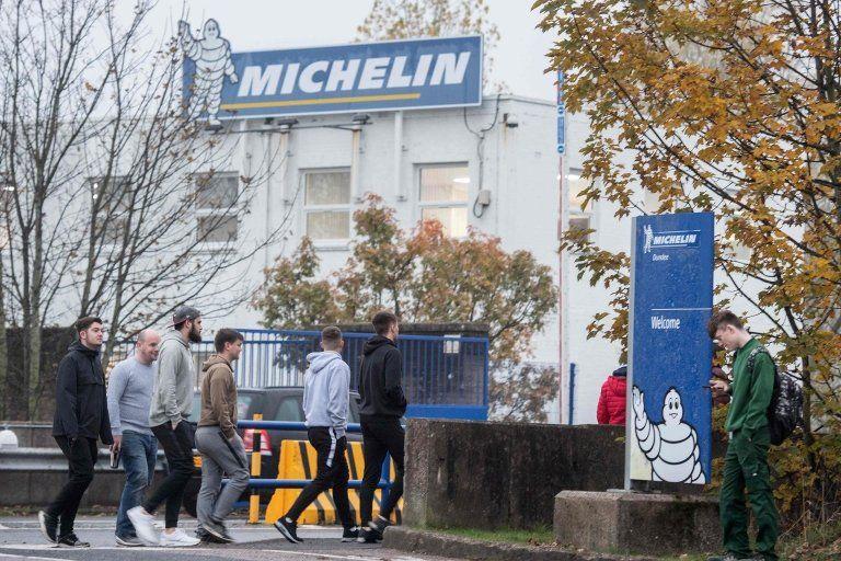 Michelin entrance