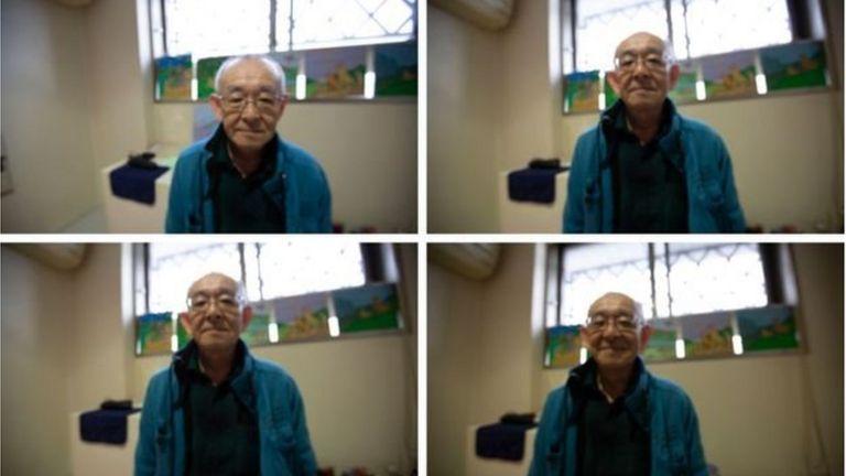 Hình ảnh Toshio trong tù