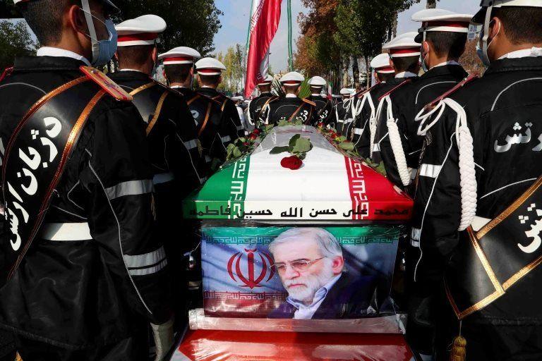 Muhsin Fahrizade Tahran'da devlet töreniyle toprağa verildi