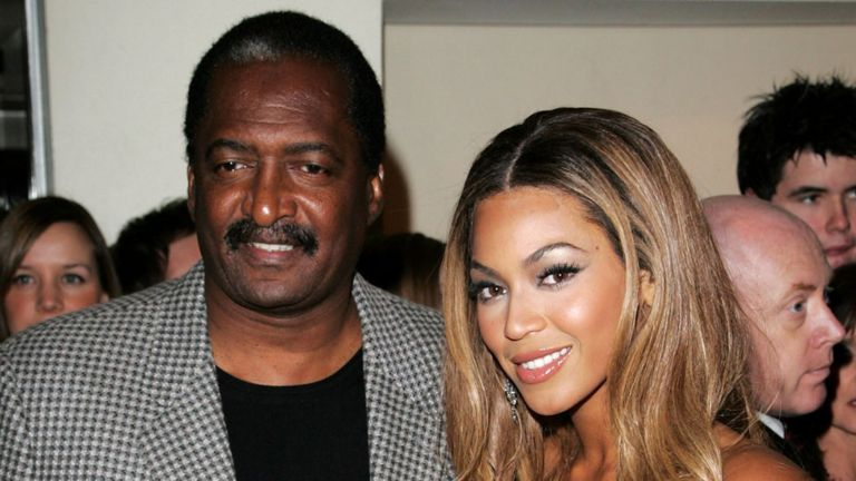 Mathew Knowles with Beyonce in 2007