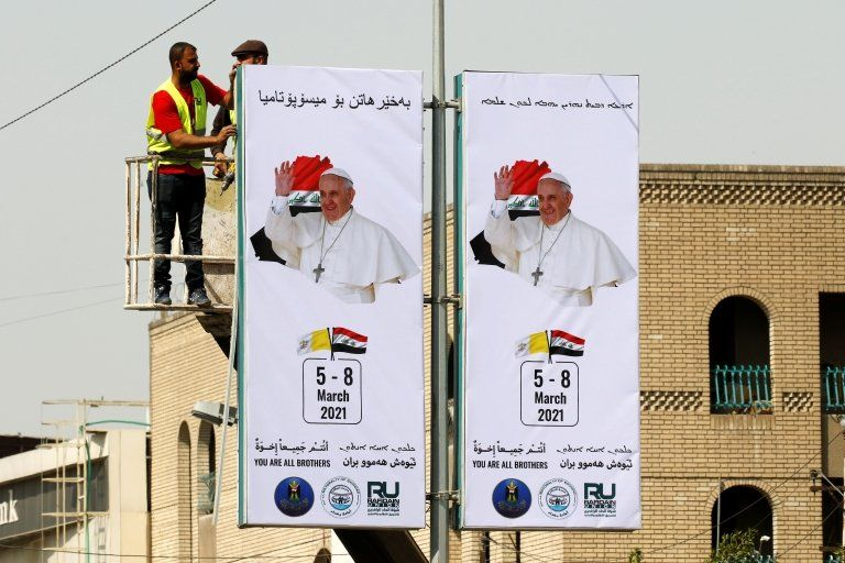 عراق برای استقبال از پاپ آماده میشود