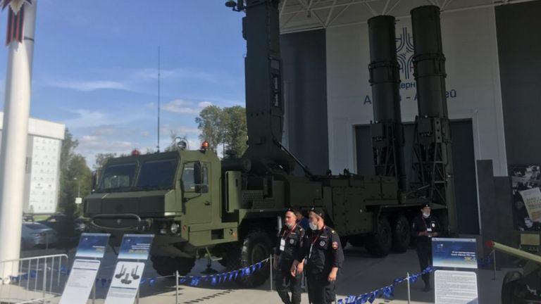 Пусковая установка 51П6Е2 ЗРК  Абакан