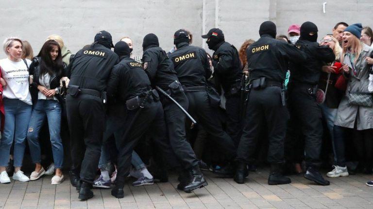 Акции протеста в Беларуси продолжаются почти полтора месяца