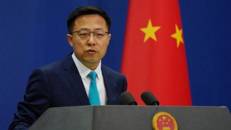 Người phát ngôn của Bắc Kinh Triệu Lập Kiên