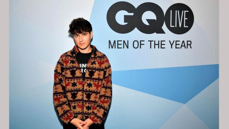 """Музыкант и певец Эзра Кениг на церемонии вручения премий журнала GQ """"Мужчины года"""""""