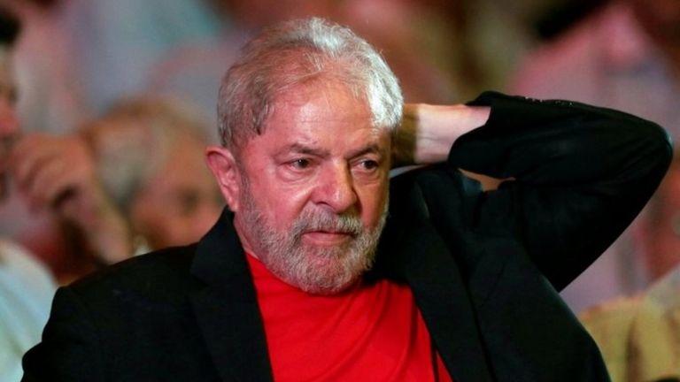Lula, en un mitin.