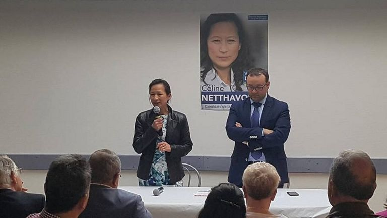 Céline Netthavongs, French Vietnamese politician