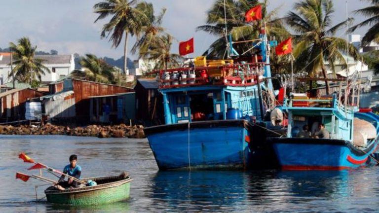 Năm 2019, ngư dân VN được động viên ra khơi bám biển trong thời gian TQ áp lệnh cấm đánh bắt cá, nhưng các tàu có giấy phép khai thác chung trên biển được khuyến cáo không đi quá sang phía Đông đường phân định Vịnh Bắc Bộ