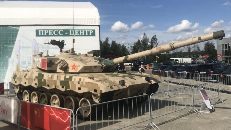 Танк ZTZ-96 из Китая