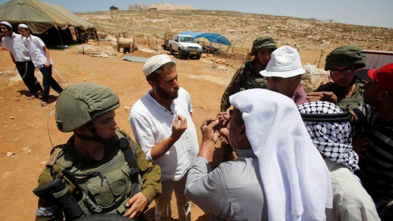 Палестинцы и израильтяне