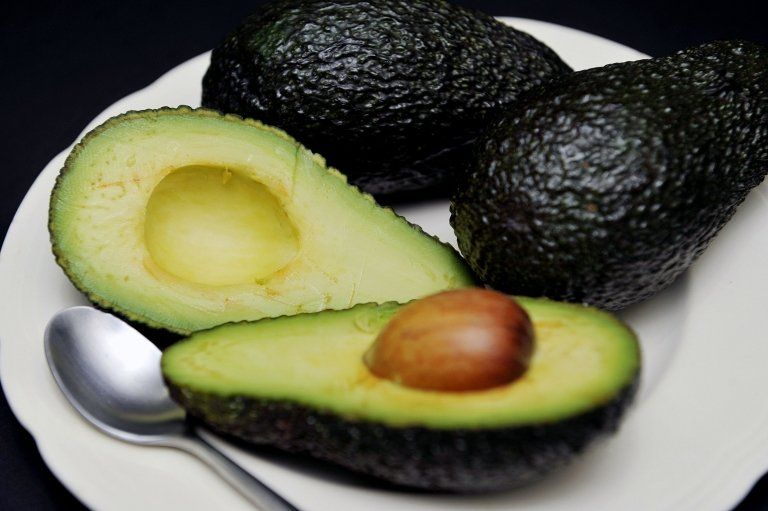 A file photo of avocados on a plate