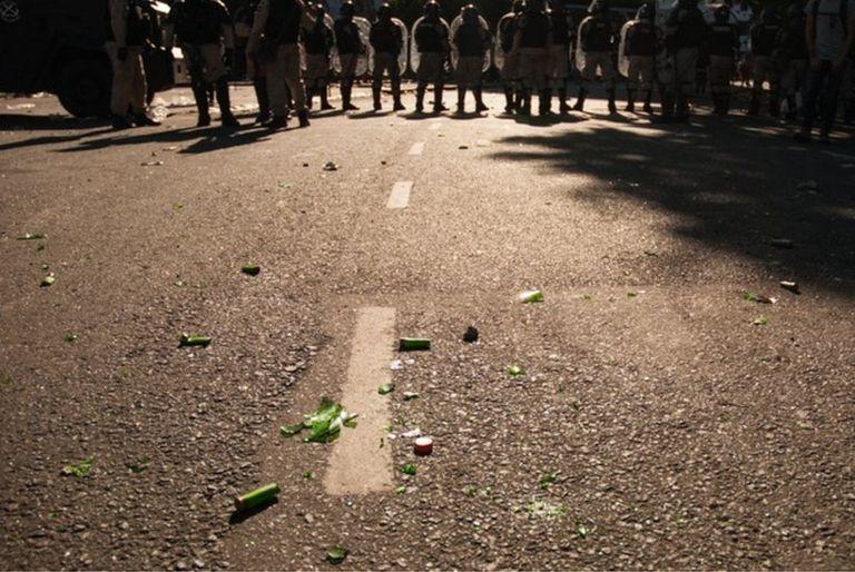 fuerzas de seguridad en Buenos Aires.