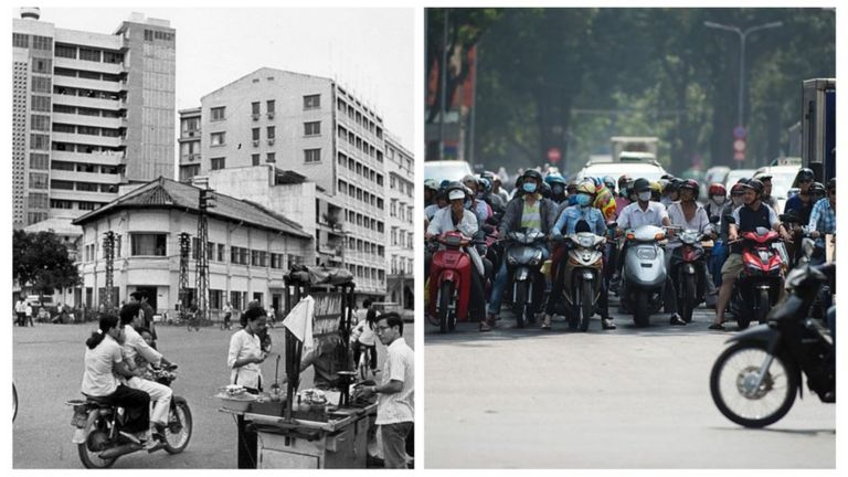 Thành phố Sài Gòn có nhiều thay đổi từ sau 1975