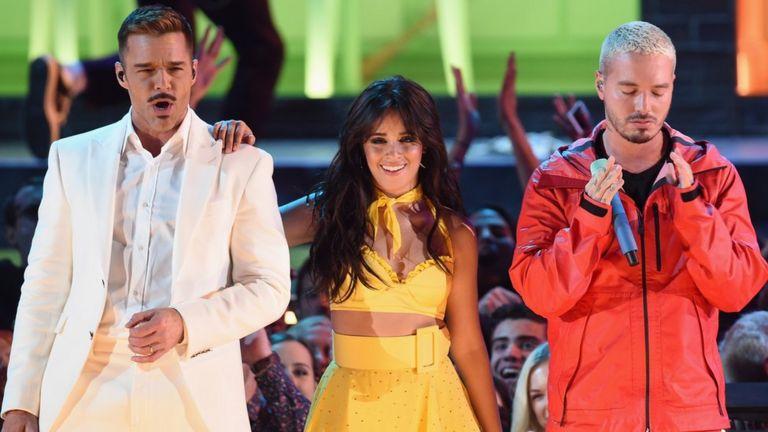 Ricky Martin, Camila Cabello y J Balvin