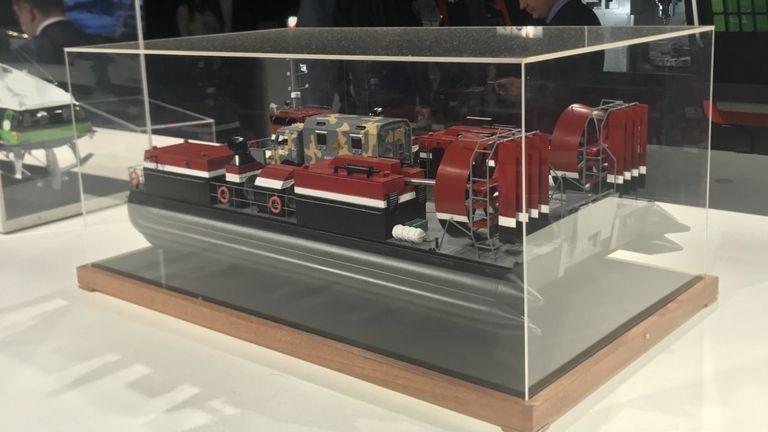 Модель парома  Хаска-10 .