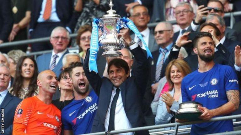 Antonio Conte aliongoza Chelsea kushinda kombe la FA mwezi Mei