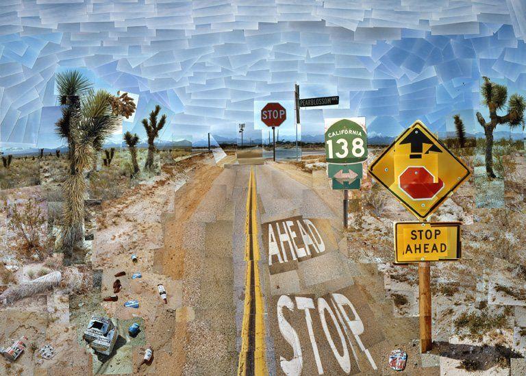 Pearblossom Highway (11-18 April 1986) by David Hockney