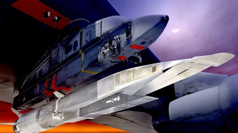 самолет X-51A