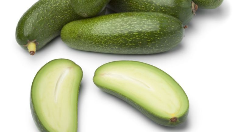 Stoneless cocktail avocados