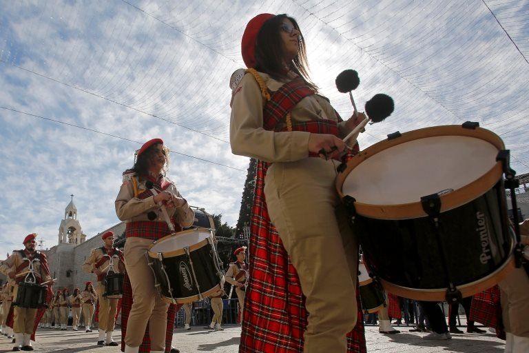 Парад в Вифлееме