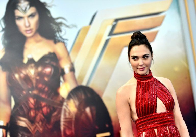 """Actress Gal Gadot arrives at the Premiere Of Warner Bros. Pictures"""" """"Wonder Woman"""" at the Pantages Theatre on May 25, 2017 in Hollywood, California."""