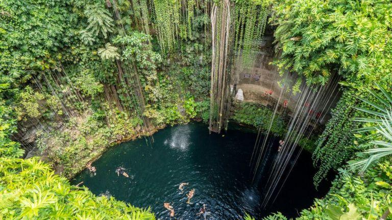 玛雅文明未解之谜:尤卡坦半岛神秘圆环的秘密