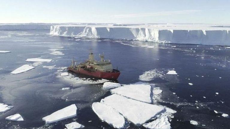 """南极""""末日冰川"""":融化速度惊人之谜真相大白"""