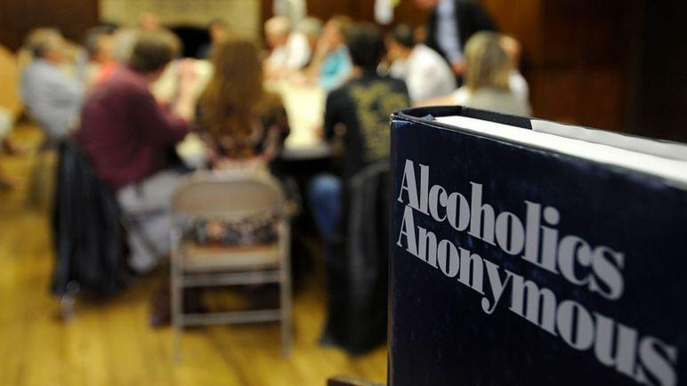 Встреча Анонимных алкоголиков во Франции