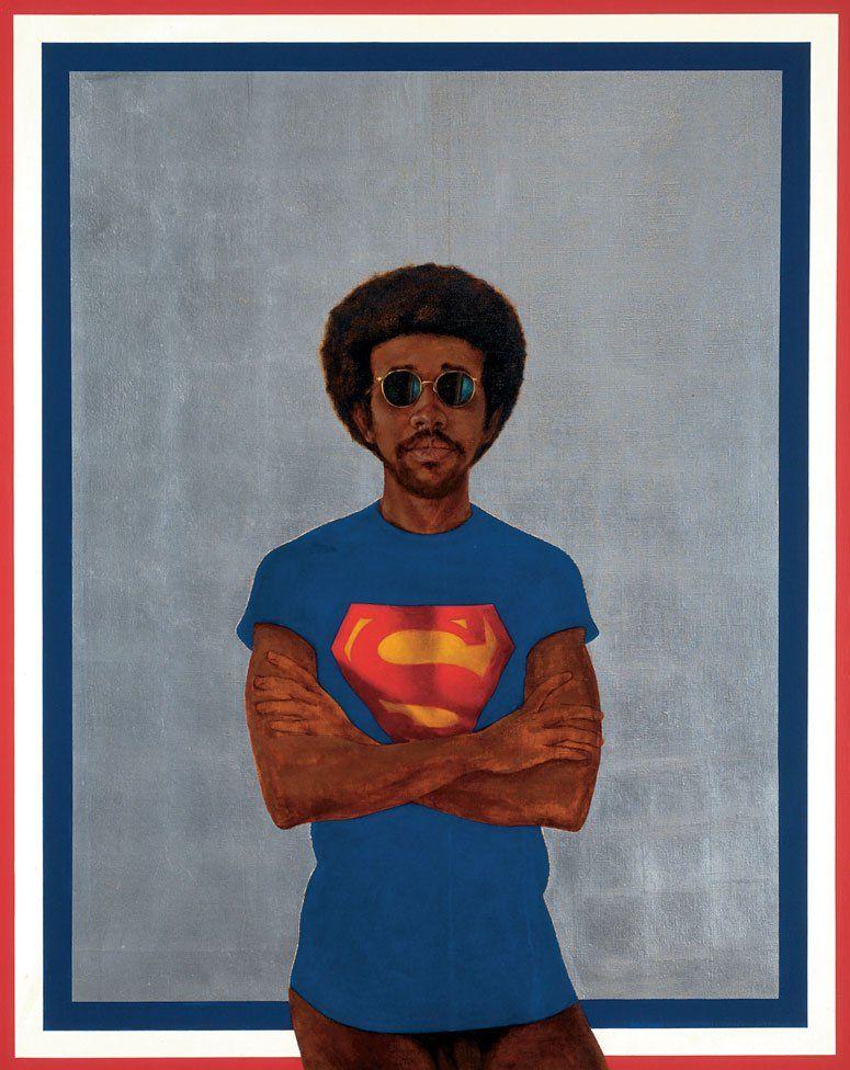 Icon for My Man Superman by Barkley L Hendricks