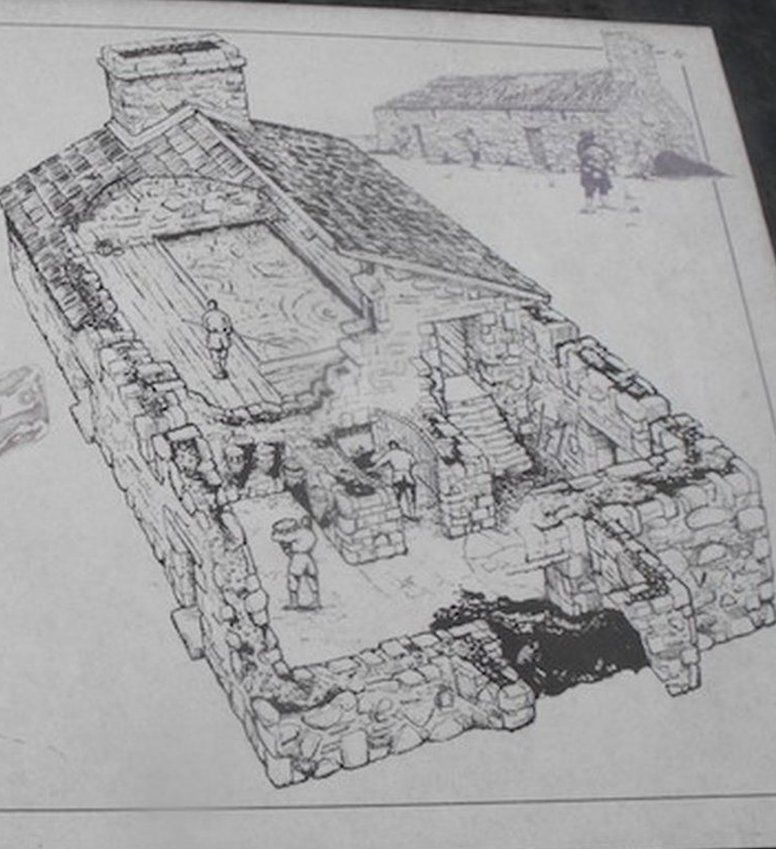 Salt house in St Monans