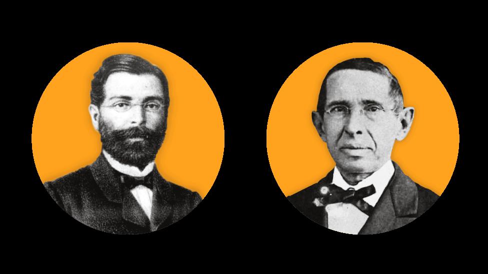 José de Alencar e Tomás Pompeu de Sousa Brasil